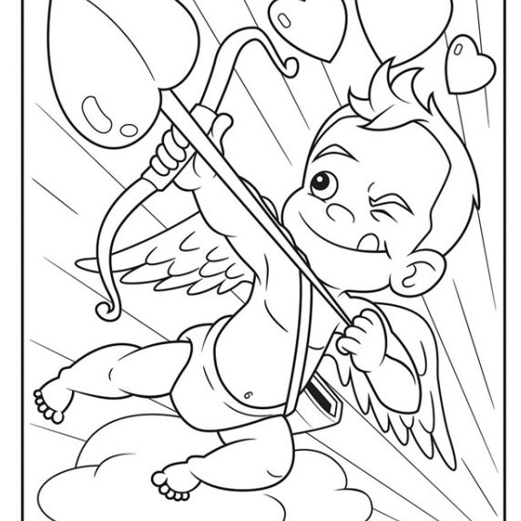 Free, Printable Valentine's Day Coloring Pages