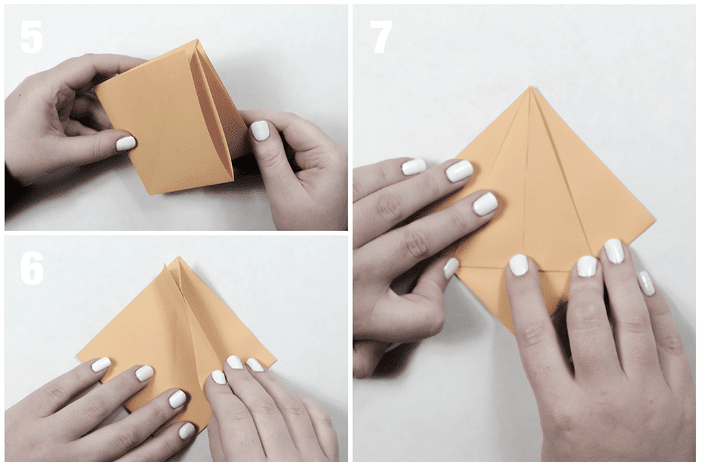 Folding to the Middle