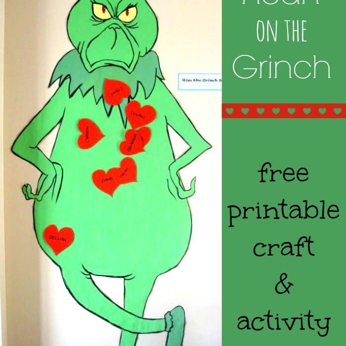 Pin the Heart on Grinch