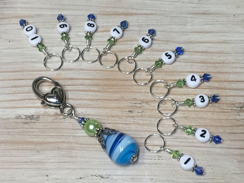Numbered Stitch Markers