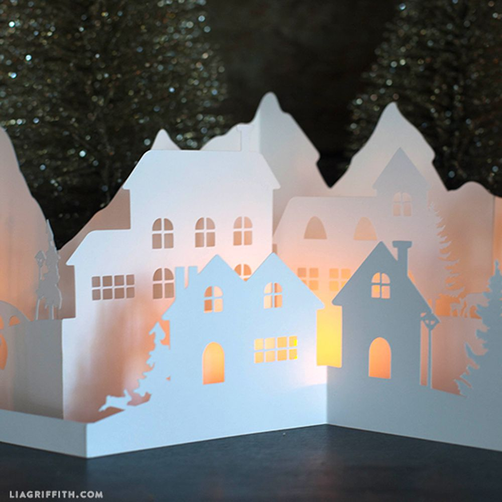 woodland theme decor ideas get the look at home.htm 10 winter paper crafts  10 winter paper crafts
