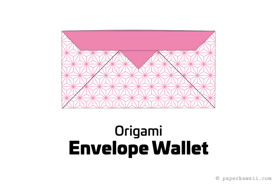 easy origami envelope wallet 01