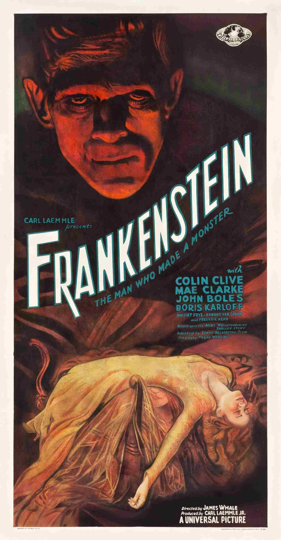 Frankenstein 1931 Movie Poster