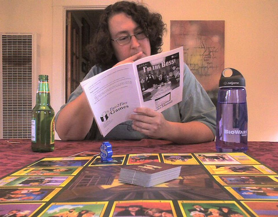 """Tracy reads the rules for """"I'm the Boss"""""""
