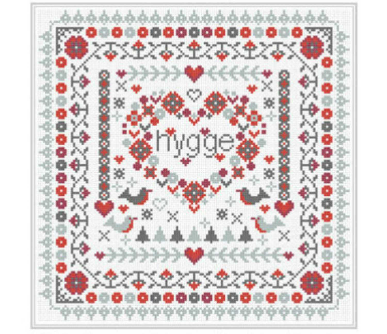 hygge cross stitch