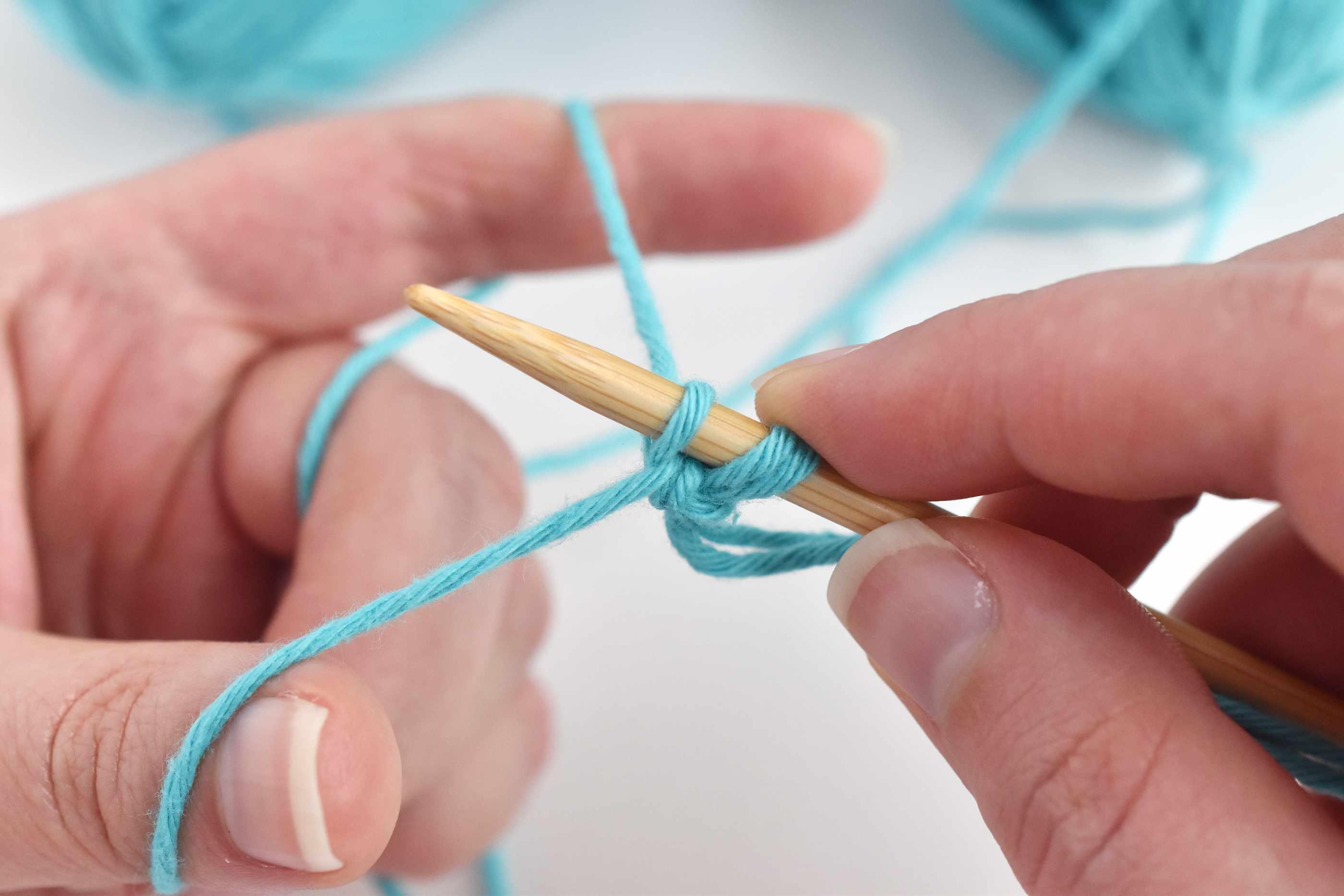 One Stitch Cast on the Needle