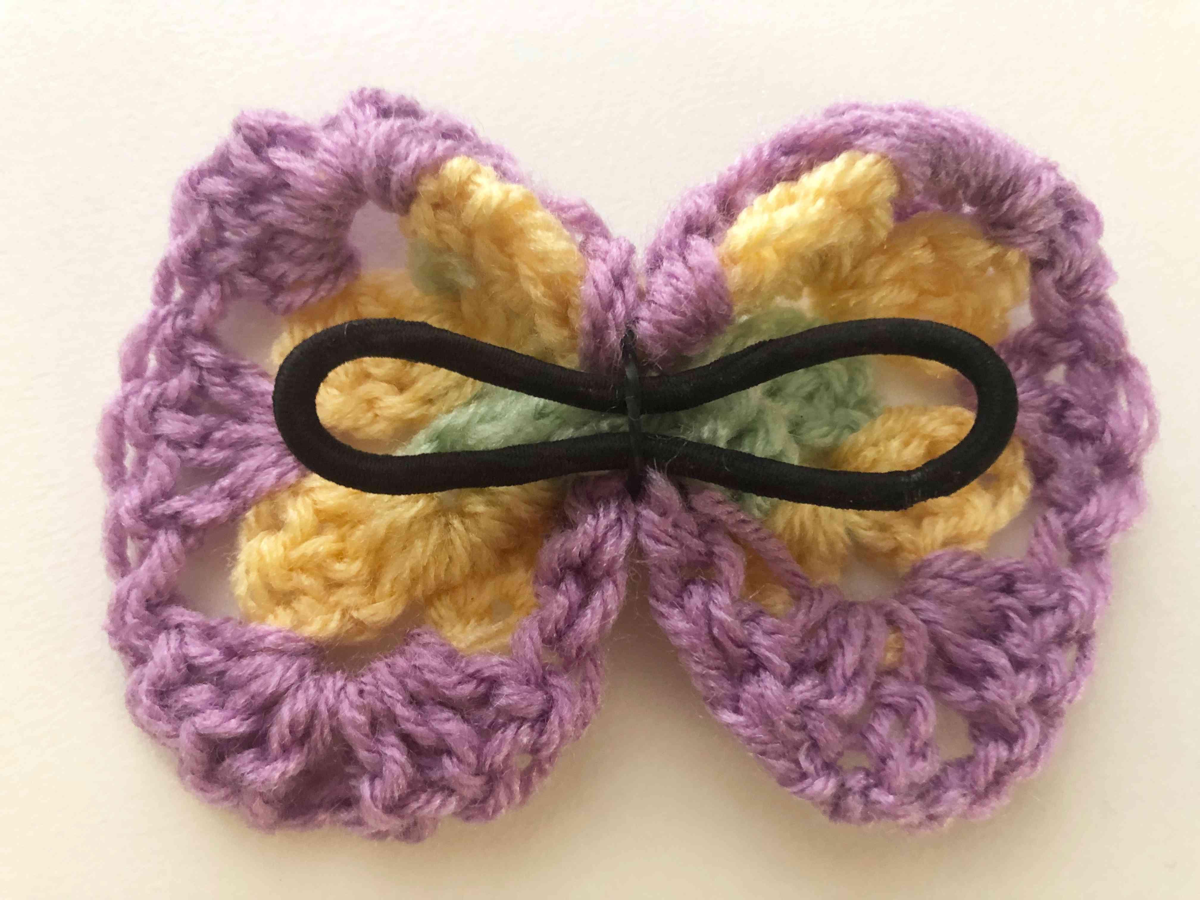 Crochet Hair Bow