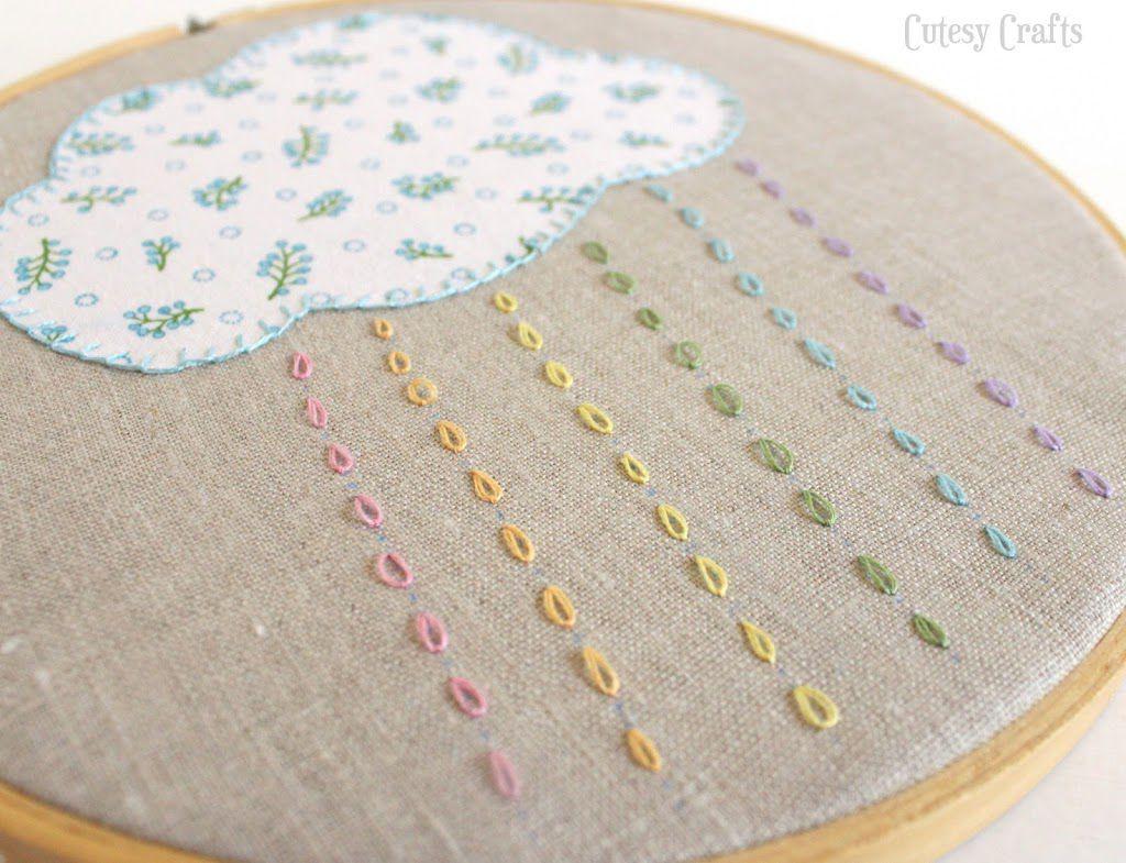 Nursery Hoop Art Patterns