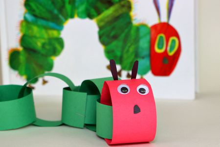 DIY Caterpillar Craft For Kids