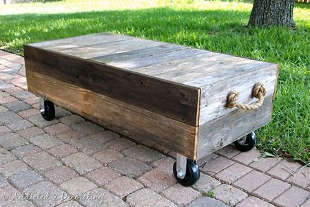 Coffee Tables On Wheels with Storage