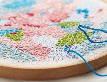 Small World Printed Fabric Pattern