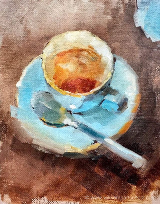 how to paint a still life with oil painting