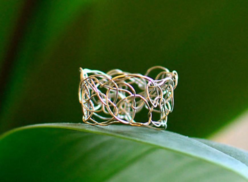 Crochet Wire Ring Free Pattern