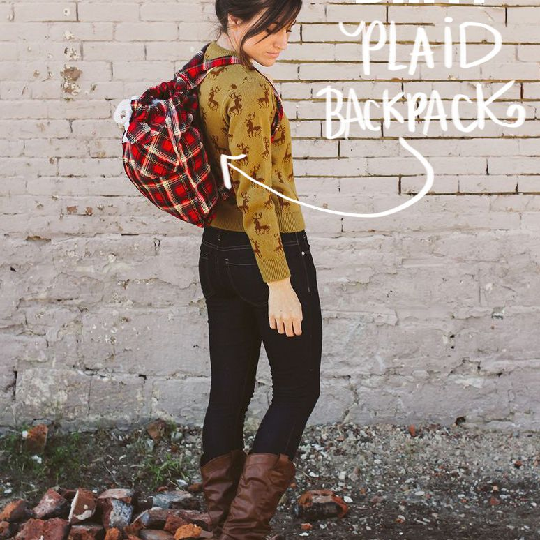 Kinsey's Easy Restyled Fall Backpack
