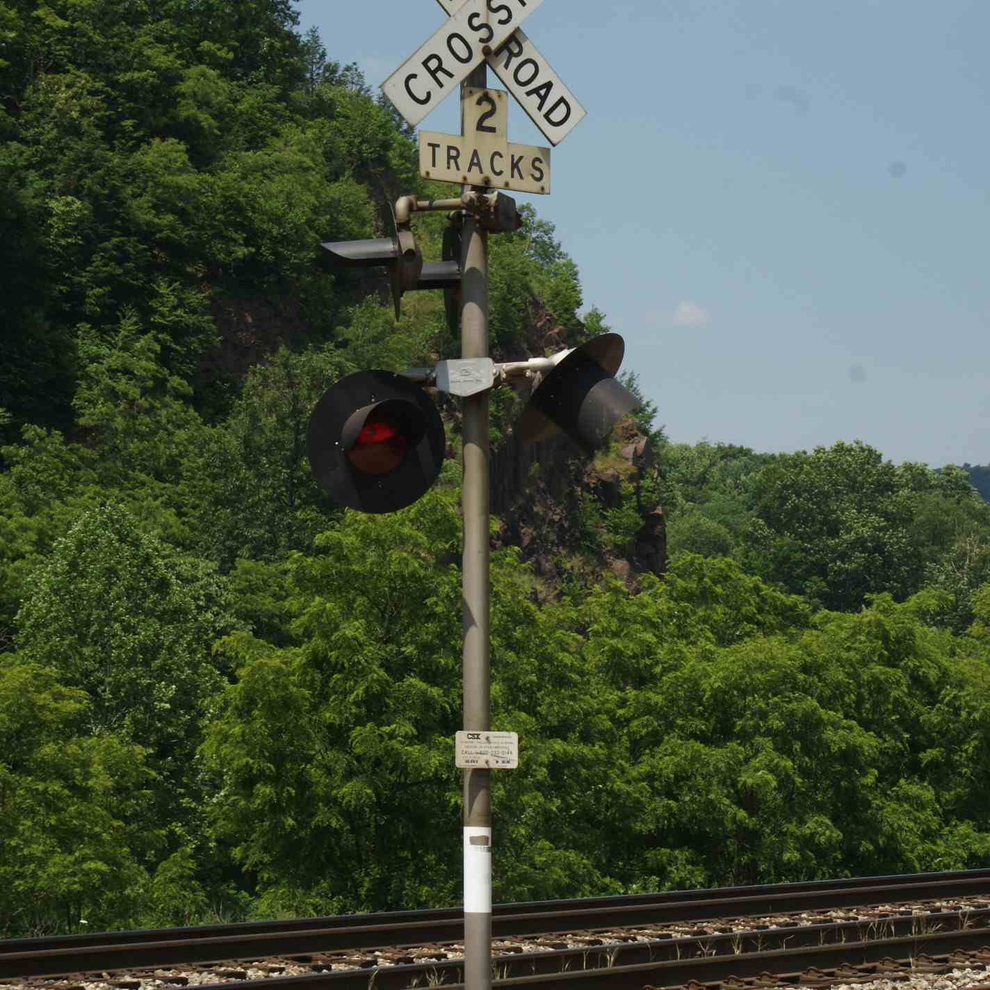 Detailing a Model Railroad Crossing