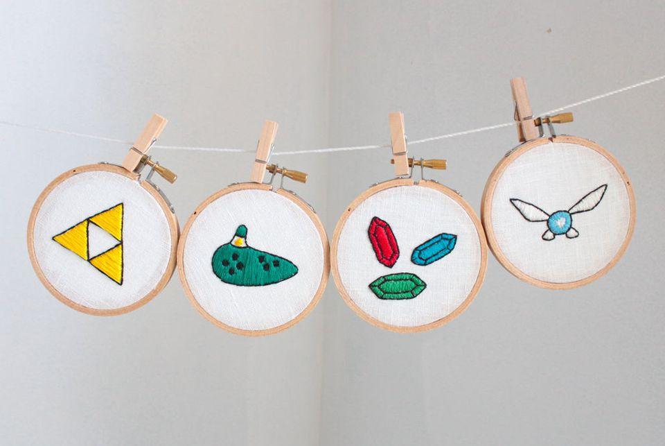 Legend of Zelda Embroidery Patterns