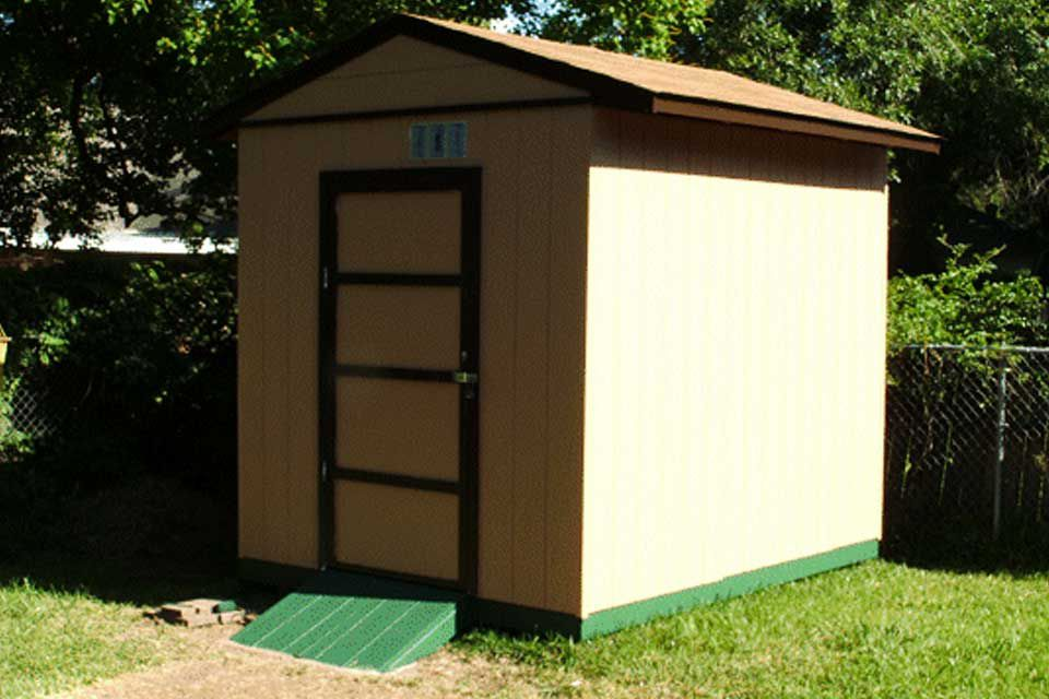 8x10 Free Storage Shed Plan