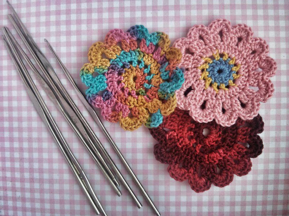 Crochet pads
