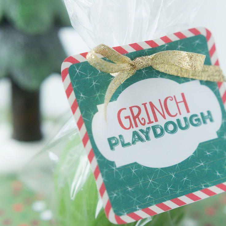 Grinch Playdough