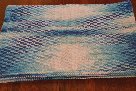 Easy Baby Blankets In Garter Stitch