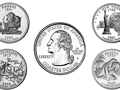 How Much Is My State Quarter D C And Territories Worth U S Coin Values Guide