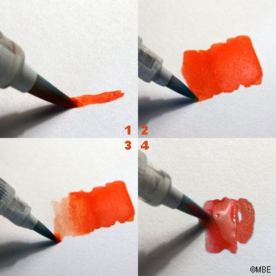 How to use a waterbrush