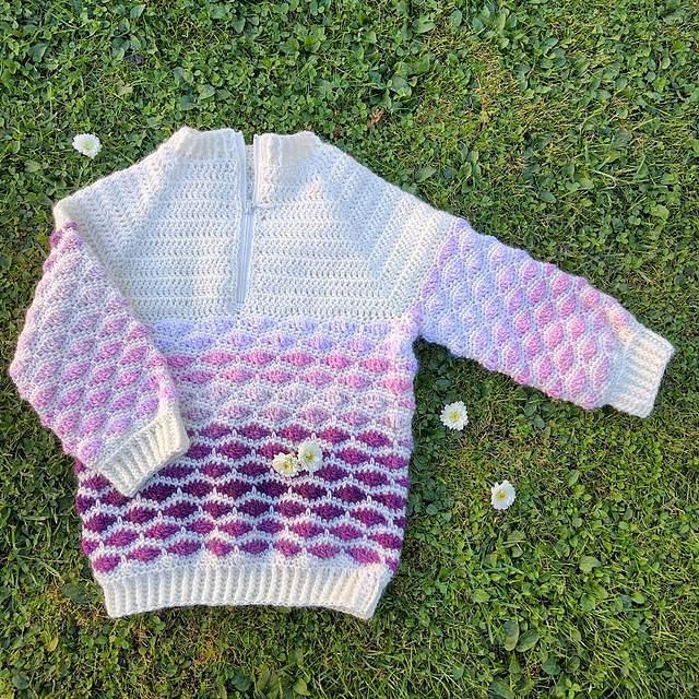 c18c7f130 15 Free Baby Sweater Crochet Patterns