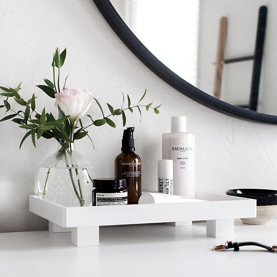 DIY bathroom decor ideas for vanity