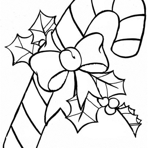 dltks christmas coloring pages a candy cane dltk