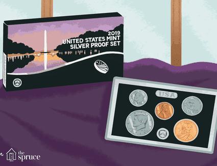 1975 United States Mint Proof Set 6 Piece Clad Set