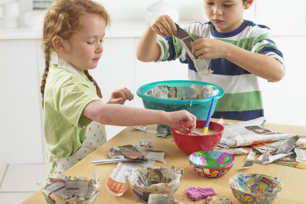 Family paper mache projects