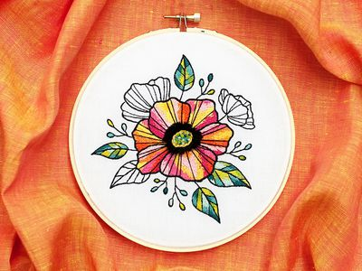 The Easy Way to Get Started With Embroidery