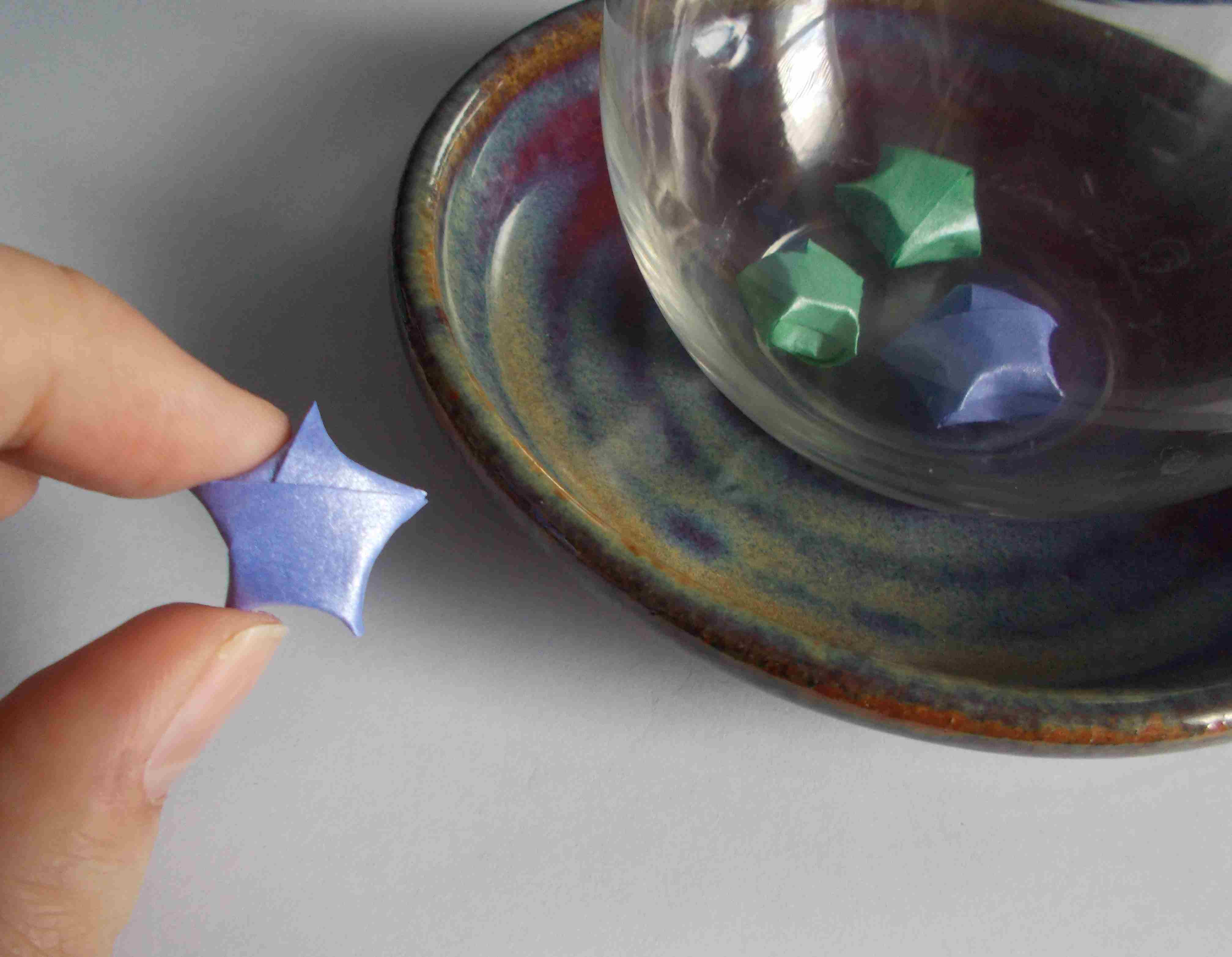 How to Make Origami Lucky Stars - photo#39
