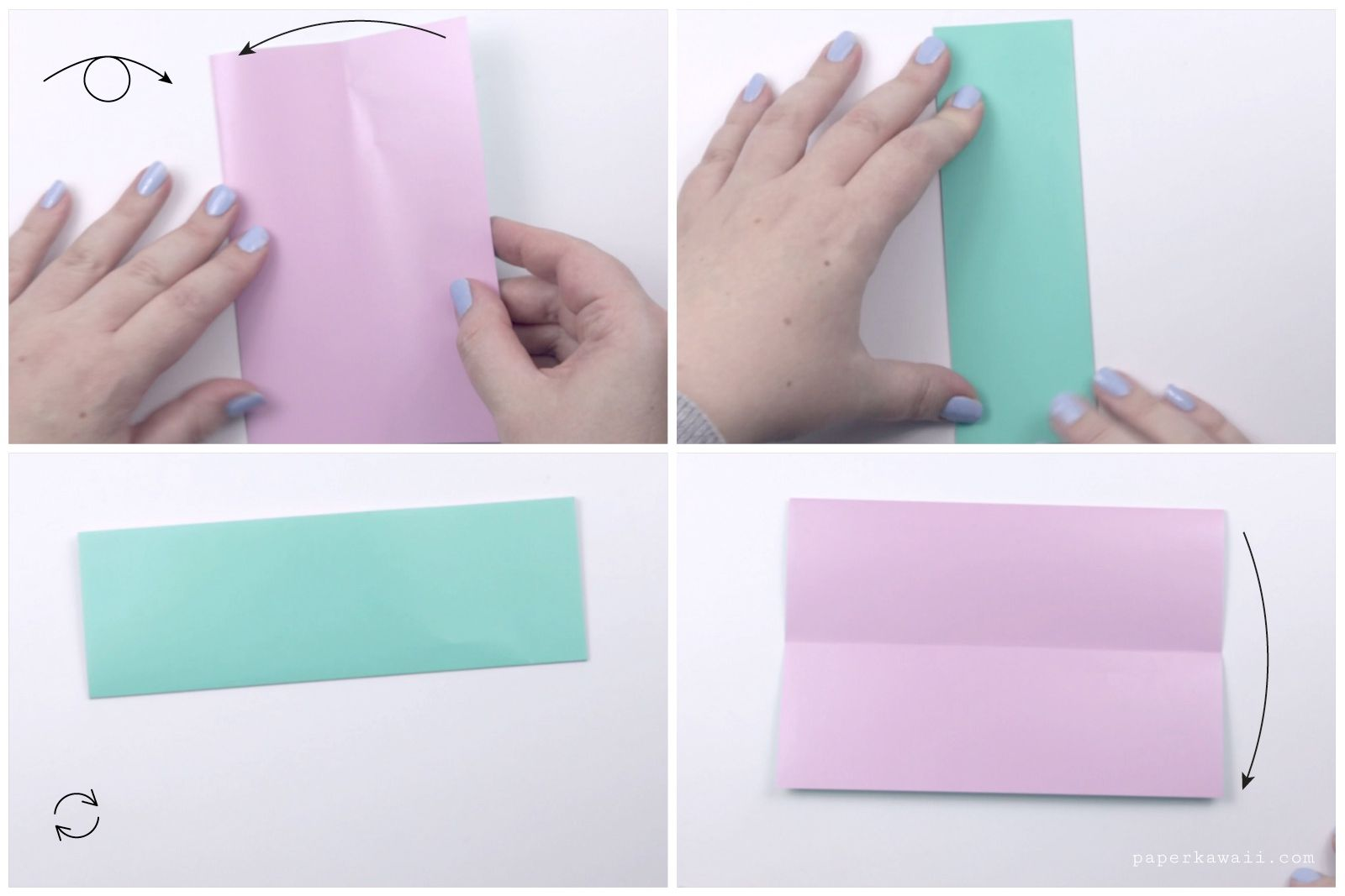 japanese origami doll tutorial 02