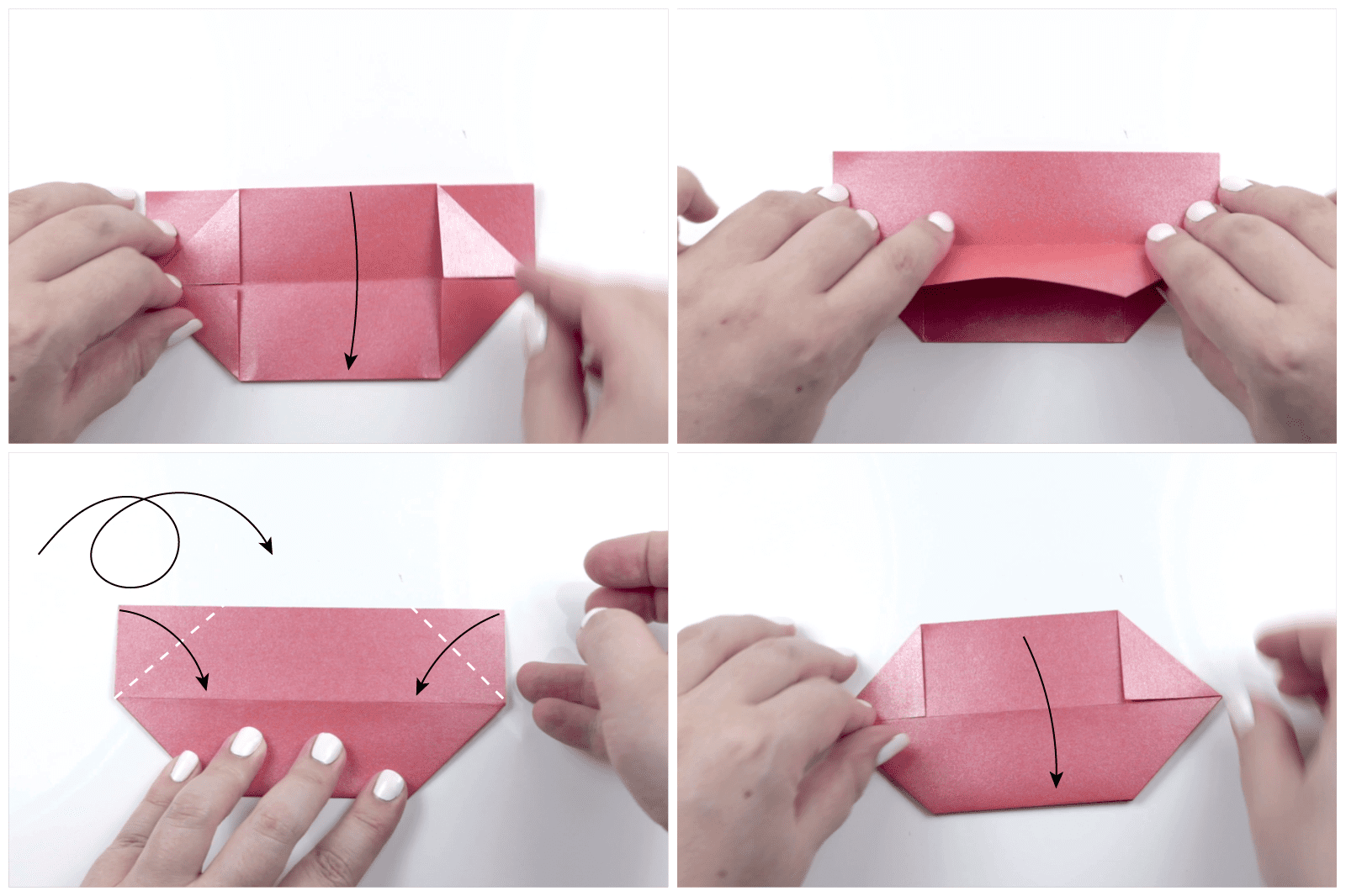 Step By Step Diy Origami Lotus Flower - All About Craft | 1066x1600
