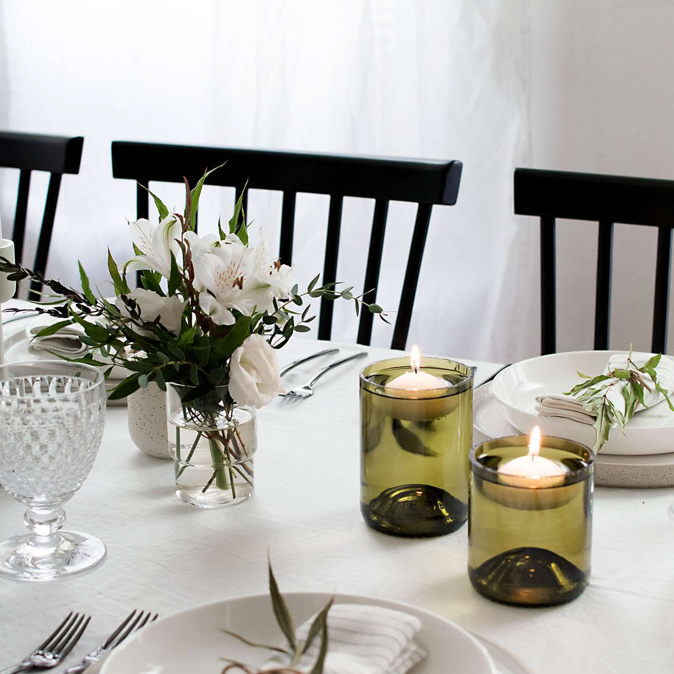 DIY Floating Candle Holders