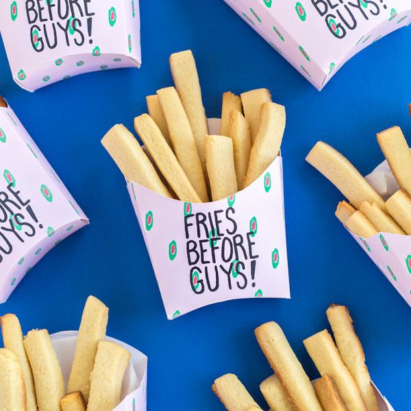 DIY Fries Before Guys Box