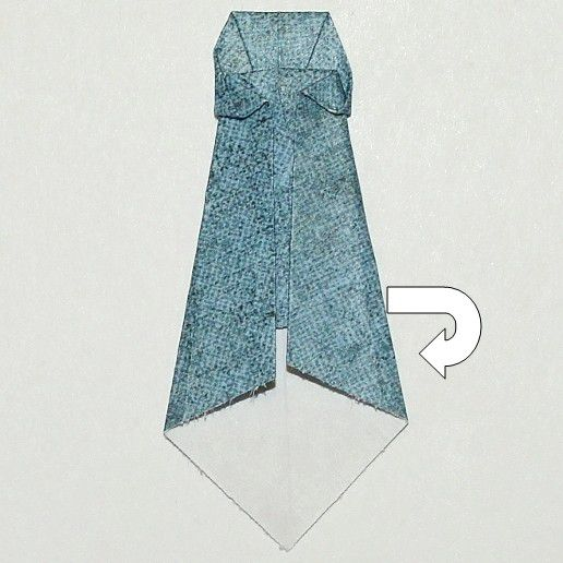 Origami Tie Instructions