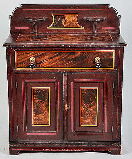 Victorian Wash Stand - Victorian Furniture Identification And Value Guide