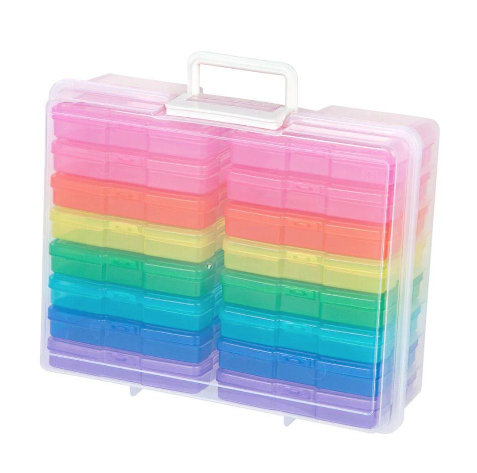 Rainbow Photo & Craft Keeper