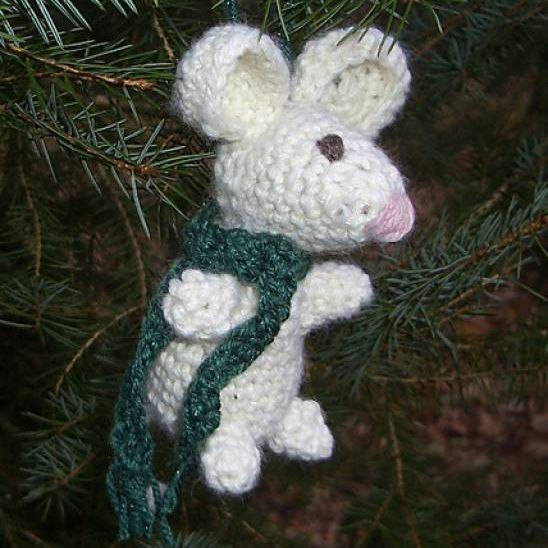 Adorable Amigurumi Mice | 548x548