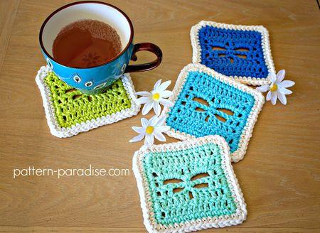 15 Creative Crochet Coaster Patterns