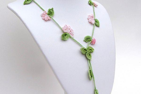 Oya Crochet Jewelry Pattern