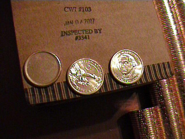 Blank Presidential Dollar