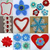Free Patterns for Crocheting Appliques, Motifs and Shapes