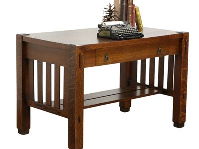 Can You Identify Mission Style Furniture? Antique Collecting - Charles Limbert's Mission Style Arts And Crafts Furniture