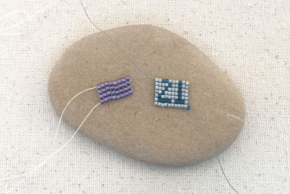Square Stitch Beadwork Tutorial