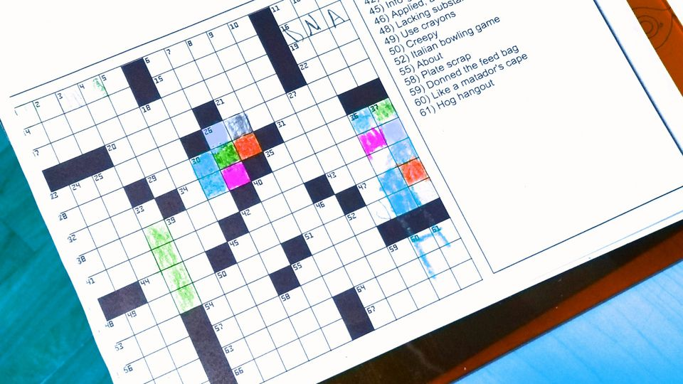 Kids Crossword Puzzle