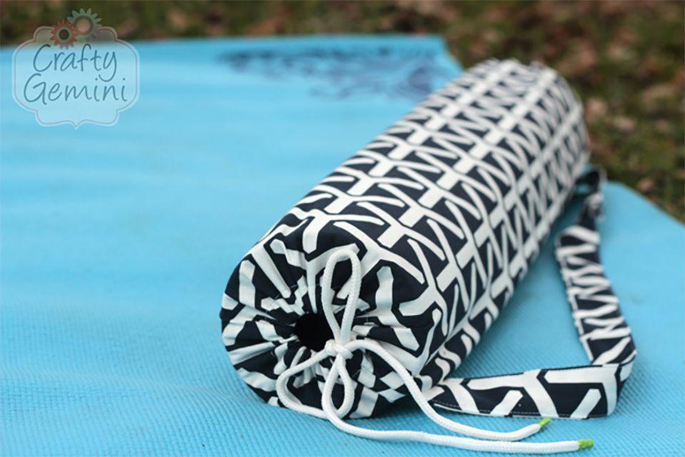 13 Free Yoga Mat Bag Sewing Patterns