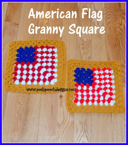 Crochet American Flag Free Patterns